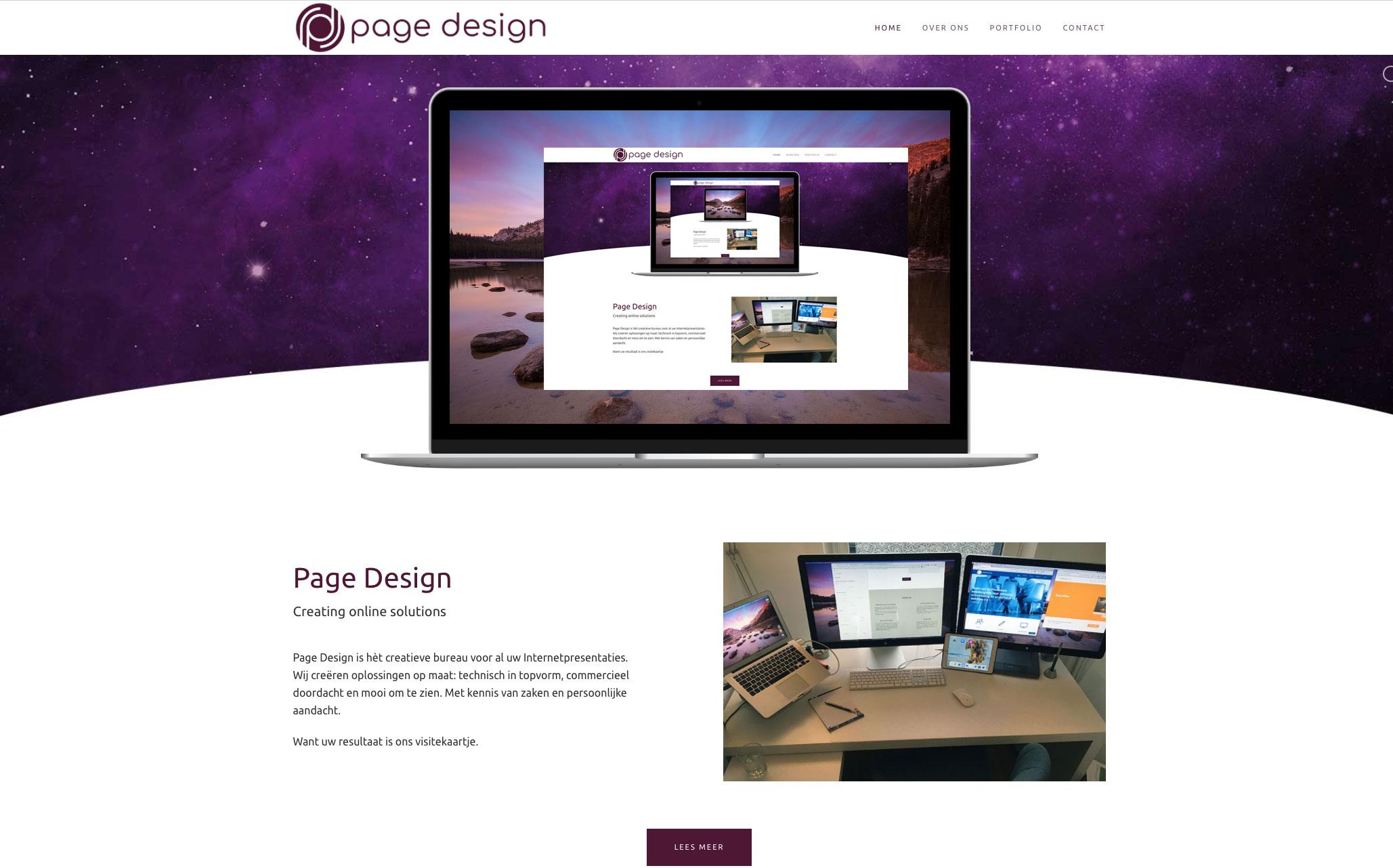 website Webdesign, website Joomla CMS ontwikkeling door Page Design, Alkmaar